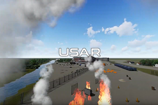 Outside 3d modelling, USAR tesxt
