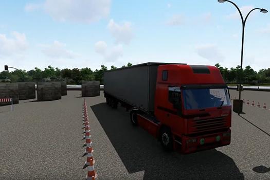 3d modelling truck